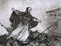 May the rope break, 1820, goya
