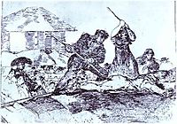 Mob, 1814, goya