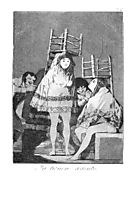 Now they are sitting well, 1799, goya