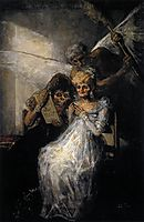 The Old or the time and old women, 1810-12, goya