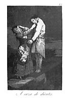 Out hunting for teeth, 1799, goya
