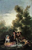Picnic, 1788, goya