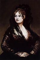 Portrait of Doña Isabel de Porcel, ~1805, goya