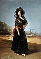 Portrait of the Duchess of Alba, 1797, goya