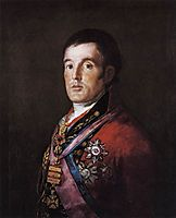 Portrait of the Duke of Wellington, 1812, goya
