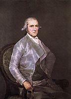 Portrait of Francisco Bayeu, 1795, goya