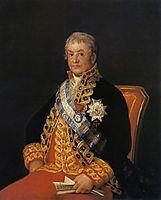 Portrait of José Antonio, Marqués de Caballero, 1807, goya