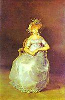 Portrait of Maria Teresa of Ballabriga, Countess of Chinchon, goya