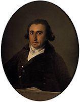 Portrait of Martin Zapater, 1797, goya