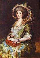 Portrait of Senora Berm sezne Kepmesa, goya