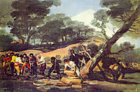 Powder Factory in the Sierra, c.1814, goya