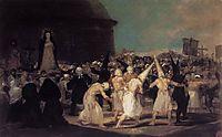 A procession of flagellants, 1812-14, goya