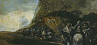 Promenade of the Holy Office, 1823, goya
