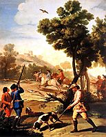 The Quail Shoot, 1775, goya