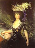 Queen Maria Luisa, goya