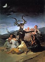 Sabbath, 1789, goya