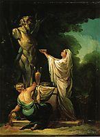 The Sacrifice to Priapus, 1771, goya
