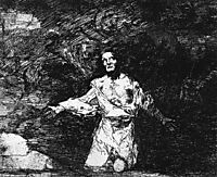 Sad forebodings of what is to come, 1810, goya