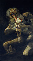 Saturn Devouring His Son, 1823, goya