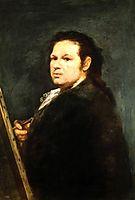 Self portrait, 1783, goya