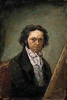 Self portrait, 1795, goya
