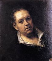 Self-portrait, 1815, goya