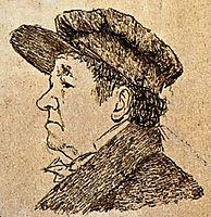 Self Portrait, 1824, goya