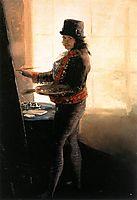 Self-portrait in the Studio, c.1795, goya