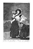Should God forgive her She was her mother, 1799, goya