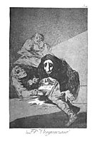 The shy man, 1799, goya