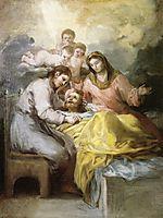 Sketch for The Death of Saint Joseph, c.1787, goya