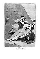 Tantalus, 1799, goya