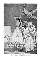 They already go plucked, 1799, goya