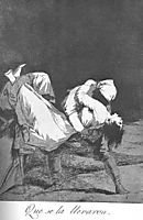 They Carried her Off, 1799, goya