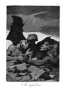 They spruce themselves up, 1799, goya