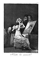 Till death, 1799, goya