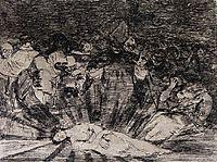 Truth Has Died, 1814, goya