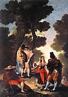 A Walk in Andalusia, 1777, goya