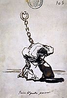 Who Can Think of It?, 1823, goya