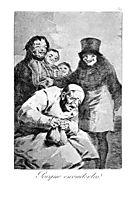 Why hide them?, 1799, goya
