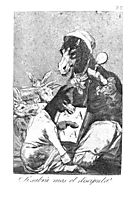 Will the student be wiser?, 1799, goya