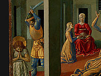 The Dance of Salome (detail), 1462, gozzoli