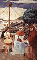Disembarkation at Ostia, 1465, gozzoli
