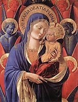 Madonna and Child, 1485, gozzoli