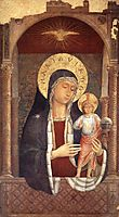 Madonna and Child Giving Blessings, 1449, gozzoli