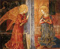 San Domenico Annunciation, c.1449, gozzoli