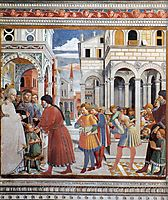 The School of Tagaste, 1465, gozzoli