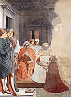 St. Augustine at the University of Carthage, 1465, gozzoli