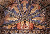 St. Francis in Glory and Saints, 1452, gozzoli