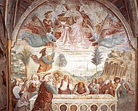 Tabernacle of the Madonna delle Tosse: Assumption of the Virgin, 1484, gozzoli